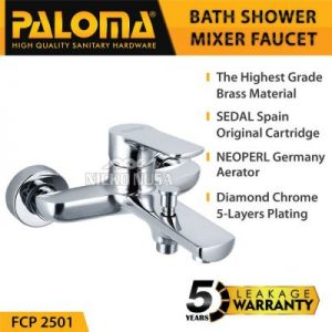 kran PALOMA FCP 2501 Keran Mixer Bathtub Shower Mandi Panas Dingin Kran Air