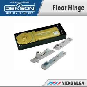 FLOOR HINGE DEKKSON 84 SET