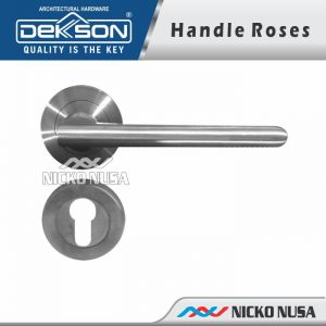 LEVER HANDLE TUBE ROSE LHTR 0039 SSS