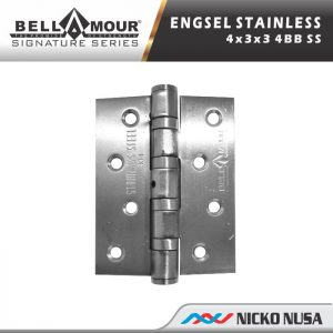 ENGSEL STAINLESS BELLAMOUR 4x3x3mm 4BB SS 304