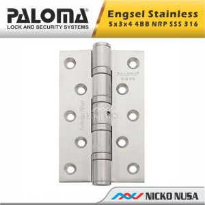 ENGSEL STAINLESS PALOMA BHP113 EXC 5x3x4 4BB NRP SSS 316