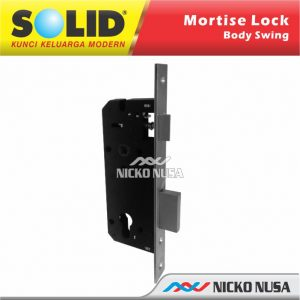MORTISE LOCK SWING SOLID LC 111 WL-40 US32D