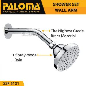 PALOMA SSP 3101 Shower set wall tanam tembok head mandi
